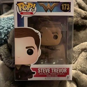 Steve Trevor Wonder Woman Funko Pop